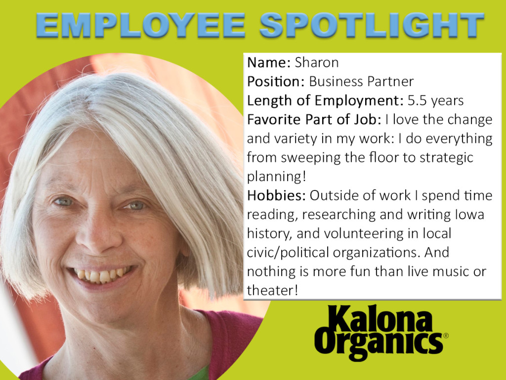 Sharon's Employee Spotlight